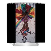 One Pulse Shower Curtain