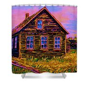 One Room Schoolhouse Shower Curtain