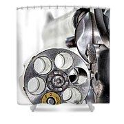 One Round Shower Curtain