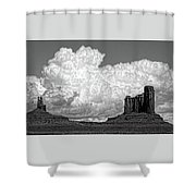 One Sky Above Us Shower Curtain