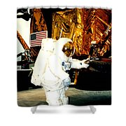 One Small Step For Man Shower Curtain