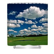 One Summer Day Shower Curtain