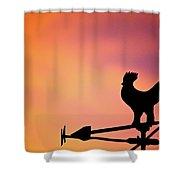 One Sunday Morning Shower Curtain