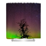 One Tree One Night On The Palouse Shower Curtain