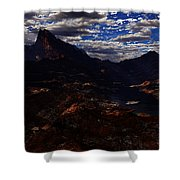 One Tree Valley Shower Curtain