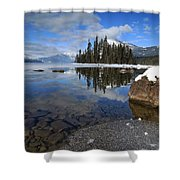 One Winters Morning Shower Curtain