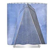 One World Trade Center New York City Shower Curtain