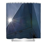 One World Trade Center New York Ny Sunset Shower Curtain