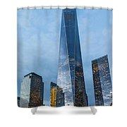 One World Trade Center Shower Curtain