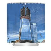 One World Trade Shower Curtain