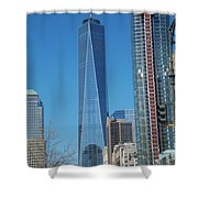 One Wtc 2016 Shower Curtain