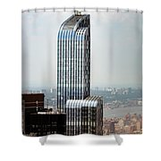 One57 And Park Hyatt Hotel In Nyc Shower Curtain