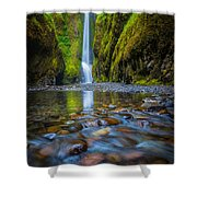 Oneonta Cascades Shower Curtain