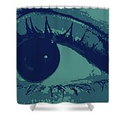 Ones Own Eye Shower Curtain