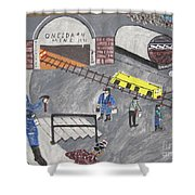 Onieda Coal Mine Shower Curtain