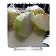 Onions I Shower Curtain