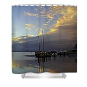 Only For A Moment  Shower Curtain