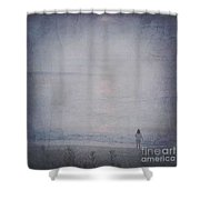 Only The Lonely Shower Curtain