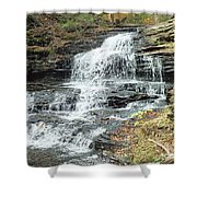 Onondaga 6 - Ricketts Glen Shower Curtain