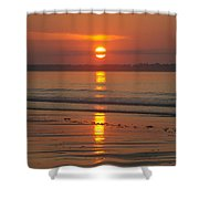 Oob Sunrise 3 Shower Curtain