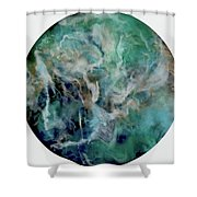 Opal River Shower Curtain