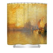 Opalescent Venice Shower Curtain