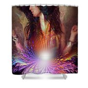 Opening Essence Shower Curtain