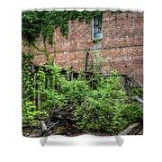 Open Air Garden Shower Curtain