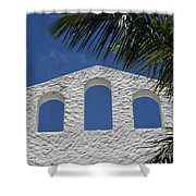 Open Air In St. Maarten Shower Curtain