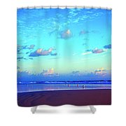 Open Beach Ponce Inlet Atlantic Ocean Shower Curtain