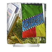 Open In Lewis Delaware Shower Curtain