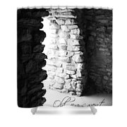 Open New Doors Shower Curtain
