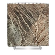 open pit mine Kennecott, copper, gold and silver mine operation Shower Curtain