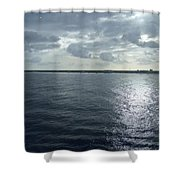 Open Water Shower Curtain