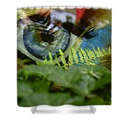 Open Your Eyes. Shower Curtain