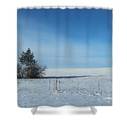 Opening Shower Curtain
