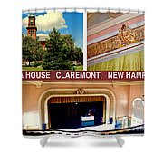 Opera House Claremont Nh Shower Curtain