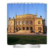 Opera House, Prague Shower Curtain