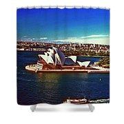 Opera House Sydney Austalia Shower Curtain
