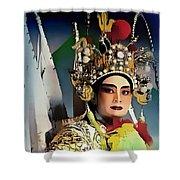 Opera Warrior Shower Curtain