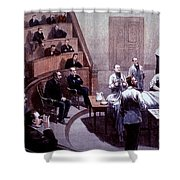Operating Amphitheater, Administering Shower Curtain