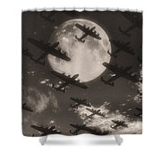 Operation Moonlight Shower Curtain