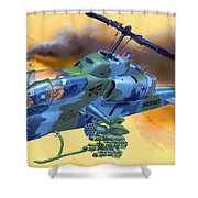Operation Wolf Shower Curtain