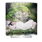 Ophelia's Peace Shower Curtain
