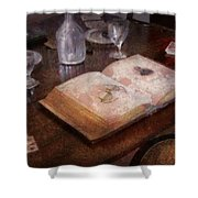 Ophthalmologist - The Poker Game Shower Curtain