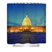 Opinions And Perspectives Shower Curtain