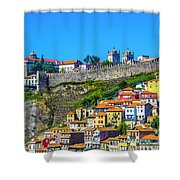 Oporto Citadel Shower Curtain