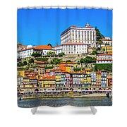 Oporto Riverfront Shower Curtain