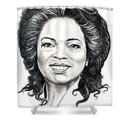Oprah Winfrey  Shower Curtain