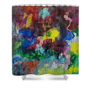 Opt.68.15 Dreaming With Music Shower Curtain